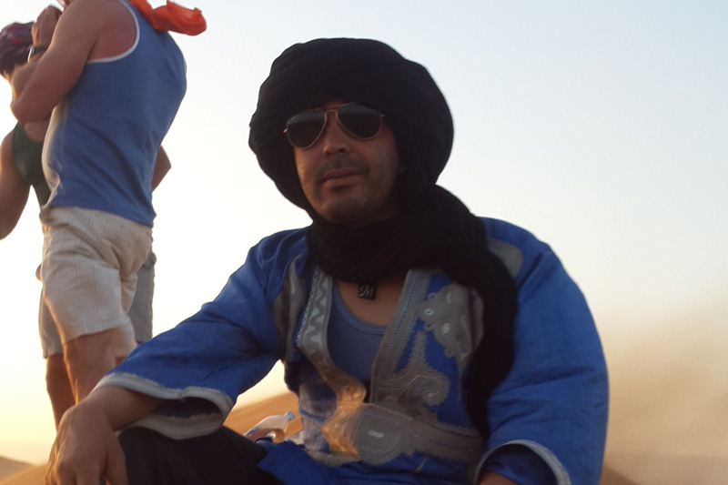LAHASAN Sahara 4×4 tour driver and guide